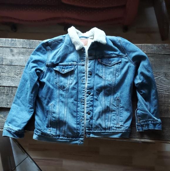 Levis sherpa jacket XL
